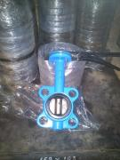 Rotary disc butterfly valve