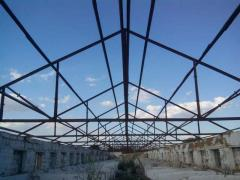 Sell the metal structure of the farm and area