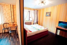 The hospitable hotel of Barnaul with comfortable rooms